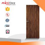 Portello di legno della quercia solida con la porta antincendio standard americana dell'UL
