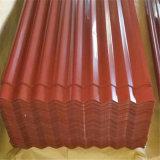 chapa de aço galvanizada corrugada folha telhando laminada 0.14-1.5mm (placa)