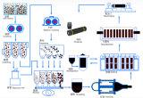 RP de GrafietElektroden van PK UHP met Uitsteeksels