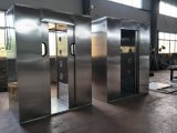 Laboratório de aço inoxidável quarto limpo chuveiro de Ar