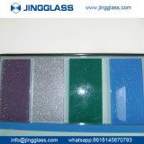 La sûreté de construction de prix bas a teinté la liste en verre de fournisseur colorée par glace en Chine