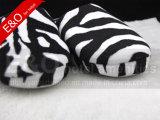 Semelle intérieure en peluche doux TPR pantoufles de chambre dans le marché