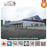 La estructura de espacio libre de PVC aluminio supermercado tienda