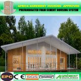 Camera prefabbricata delle baracche impermeabili d'acciaio chiare, case di lusso prefabbricate del contenitore