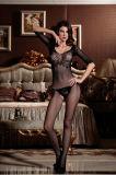 Оптовая торговля высокая эластичность Sexy Женское нижнее бельё Bodystocking BS8846