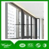 Matten-Ende-Aluminiumlegierung-Außenfenster-Schild-Flügelfenster-Fenster-Stahlrahmen-Fenster