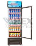 Apresentação vertical do Chiller de bebidas na vertical