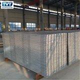 고품질 BS1139 비계 강철 판자에 의하여 직류 전기를 통하는 좁은 통로 강철 판자