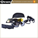 Im Freien taktische Augen-Glas-schützende Militärschutzbrillen des Polycarbonat-C4