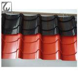 La pintura de color de galvanizado en caliente de Techos de hoja corrugado