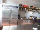 대중음식점 사용을%s 피자 냉장고 작업대 저장 내각 부엌