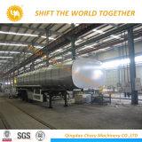 Novo Estilo de 3 eixos 42000L petroleiro em liga de alumínio