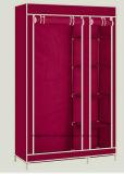 현대 간단한 옷장 가구 직물 접히는 피복 병동 저장 회의 특대 증강 조합 간단한 옷장 (FW-25C)