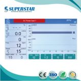 """S6100d Cer genehmigte 10.4 """" bunte TFT LCD Bildschirm-medizinische Anästhesie-Geräte"""