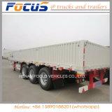 40FT container 3 de Semi Aanhangwagen van de Lading van de Zijgevel van het Nut van de As