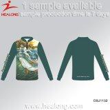衣類の昇華人の釣ジャージーを広告するHealongの熱い販売