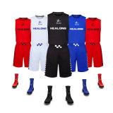 Helalong 2016 Melhor Basquetebol Jersey Design uniforme o seu próprio desporto Basquetebol uniforme