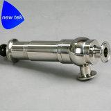 Tri válvula de descarga de aire de la tubería de la abrazadera