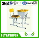 Conjunto ajustável de mesa de estudante único para escola (SF-10S)