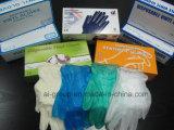 Одноразовые пищевой категории порошок свободного виниловых перчаток с пищей для семей