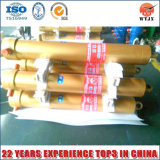 Fe Tipo 4 fases do cilindro hidráulico telescópico de rebatimento/caminhão basculante