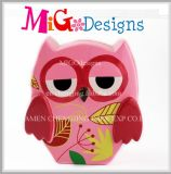 World Wide Brilliant Colorful Owl Design Ceramic Piggy Bank