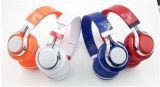 Cuffia stereo senza fili della cuffia avricolare di Bluetooth V3.0 con ritmo chiaro del LED