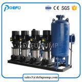 Pompa a più stadi del ripetitore della strumentazione di rifornimento idrico della costruzione con la vasca d'impregnazione verticale