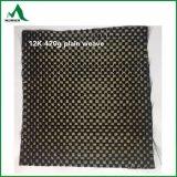 tipo barras de la fuente de los items de las en-Existencias de la tela de 6K 320&420g de la fibra del carbón