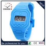 Relógio longo do silicone da cinta dos produtos 2015 quentes da venda (DC-1248)