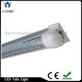 Le degré 22W de la forme de v 270 a intégré la lumière de refroidisseur de la lampe DEL du tube T8 de 8FT