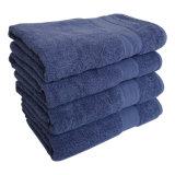 100% хлопок сплошным цветом банными полотенцами.