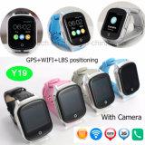 3G adultos Tracker GPS Reloj con cámara y el sos 3.0 Y19