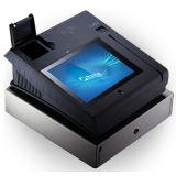 Posição do leitor de cartão magnético da tela de toque de Jepower T508 com EMV