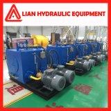 Tipo médio personalizado cilindro hidráulico do pistão da pressão para a indústria metalúrgica