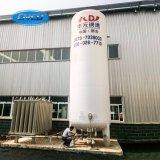Le vide de qualité saupoudre le réservoir de stockage de liquide cryogénique d'isolation