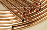 Труба меди катушки блинчика ASTM B280 от изготовления Китая