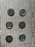 2/4 trous bouton à coudre en alliage de zinc métal