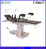 Tabella di funzionamento chirurgico manuale di uso dell'ospedale delle attrezzature mediche di ISO/CE