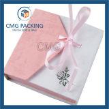 우아한 사랑스러운 백색 보석 종이상자 (CMG-PJB-026)