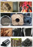 7000-8000 carvão amassado do carvão vegetal de Kg/Day que faz a linha para o BBQ usado