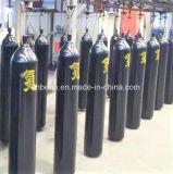 Цилиндр кислорода ISO 9809 стандартный стальной (2L-80L) с клапаном и крышкой