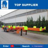 Vehículo del titán - carro de acoplado terminal del chasis 40 toneladas