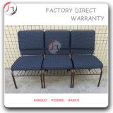 割引鋼鉄安い耐久教会椅子(JC-02)
