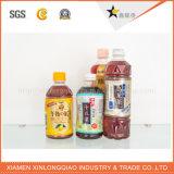 Collant de papier estampé imperméable à l'eau personnalisé de bouteille de boisson d'impression d'étiquette adhésive
