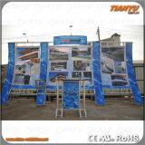 Soporte de visualización de la exposición del Tradeshow del braguero de la etapa