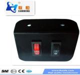 Водонепроницаемый светодиодный индикатор бар контроллер блока выключателей Kzq-010-1