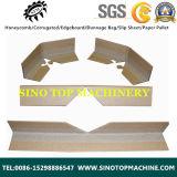Protector de borde de la placa de ángulo de papel