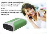 Крен 5200mAh силы USB портативная пишущая машинка 2 Port для мобильного телефона