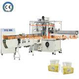 Tissu de papier formant la ligne machine à emballer de serviette